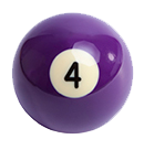 billiard ball 4