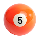 billiard ball 5