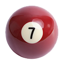 billiard ball 7