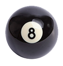billiard ball 8