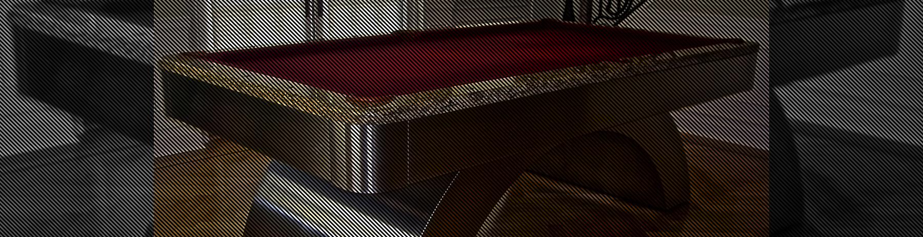 metal billiards table