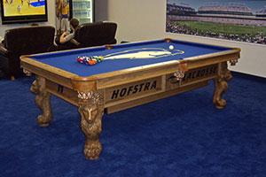 hofstra pool table