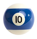 billiard ball 10