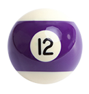 billiard ball 12