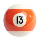 pool ball 13