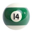 pool ball 14