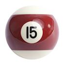 pool ball 15