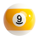 billiard ball 9