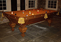pool table restoration