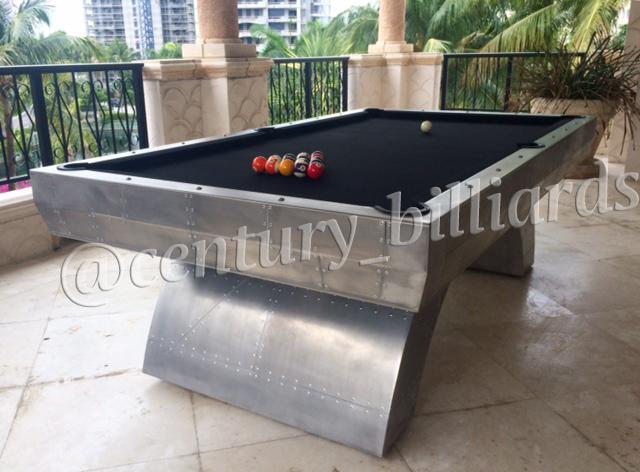 Custom Pool Table: The Aviator Photos