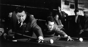 the hustler a movie about pool and billiards