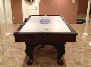 custom air hockey table in New York