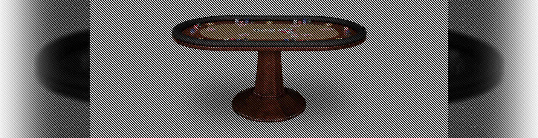 Furniture Poker Table Header Image