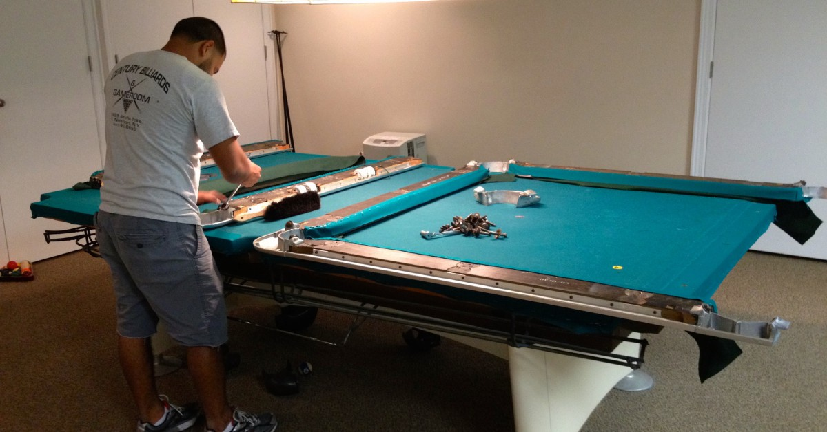 How to build a pool table a guide from century billiards for How to build a billiard table
