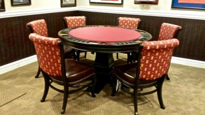 custom poker tables for home