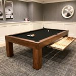 Parson's Custom Pool Table with Cue Drawer