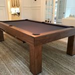 custom wooden pool table