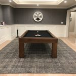 Parsons Custom Pool Table With Drawer
