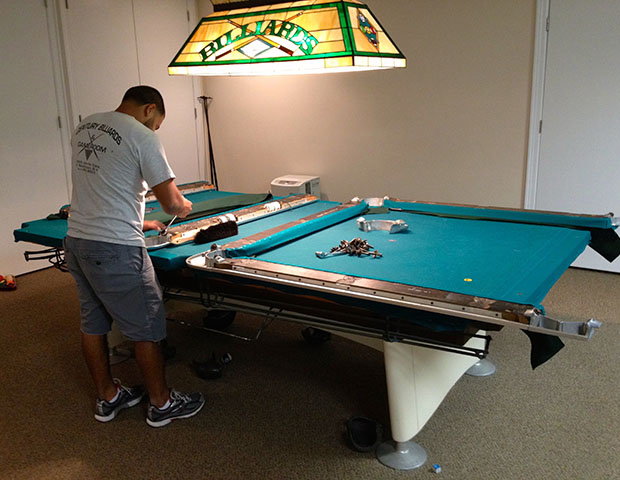 building a pool table