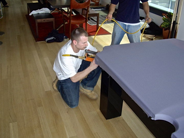 pool table felt and cloth repair