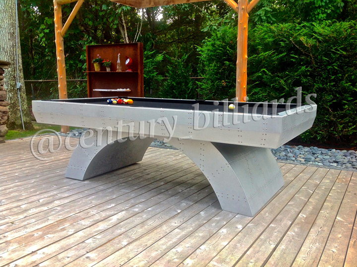 Custom Outdoor Pool Tables NY For All Weather By Century Billiards