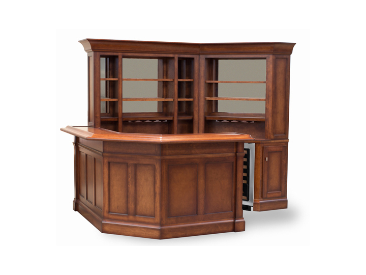 Custom bar installation and design from century billiards for Build your own bar