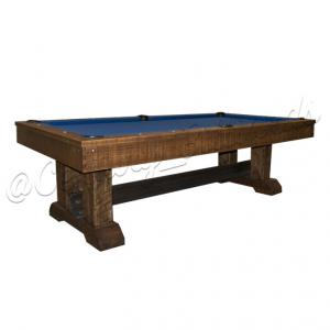 Railyard Olhausen Rustic Pool Table