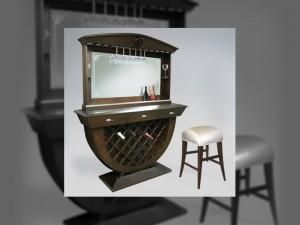 Treviso Bar w: Backbar Mirror