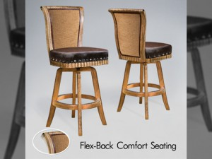Bellagio Flexback Barstool