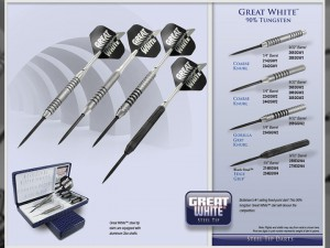 Great White Tungsten Darts