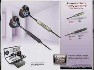 Hammer Head Heavy Weight Darts