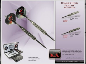 Hammer Head K.A. Tungsten Darts