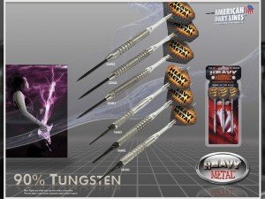 Heavy Metal Tungsten Darts
