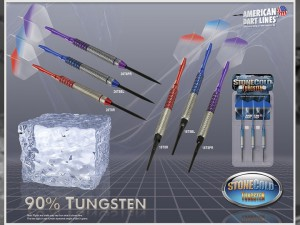 Stone Cold Tungsten Darts