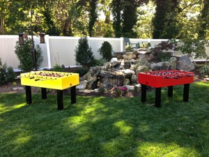 Foosball Table Custom Outdoor Foosball Tables