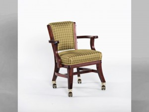 D960 Club Chair w_ casters