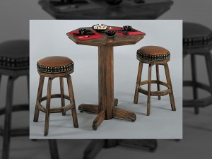 Alta Loma Oak Pub Table